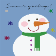 Snowman Greetings!