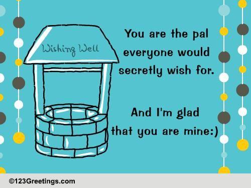 a secret wish    free secret pal day ecards  greeting