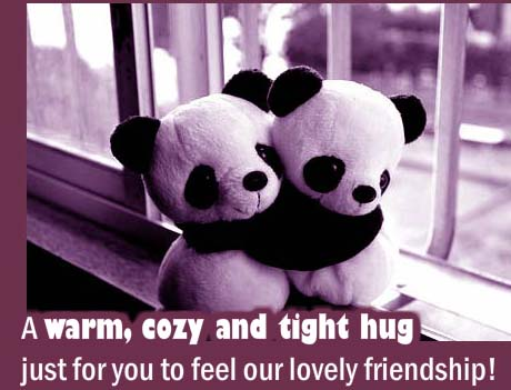 Tight Hug For You! Free Cute Hugs eCards, Greeting Cards