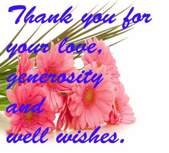 Thanks for all your well wishes free thank you ecards greeting thanks for all your well wishes m4hsunfo