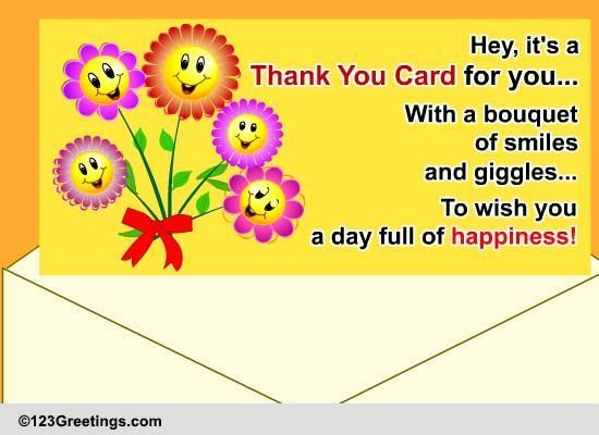 If you are looking to send a free thank you ecard, we have many options for you. Later, if you decide to upgrade your card to premium or to set up a premium subscription, then you have the chance to send ad-free cards that never expire.