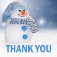 Thank You Snowman!