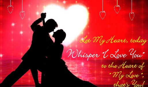 Whisper I Love You Day Ecard