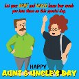 A Special Aunt And Uncle's Day E-card!!