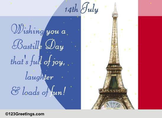 Send Bastille Day Ecard!