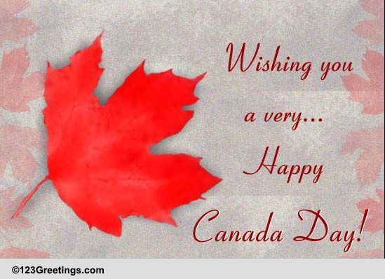 Remarkable Canada Day Greetings Free Canada Day Ecards Greeting Personalised Birthday Cards Epsylily Jamesorg