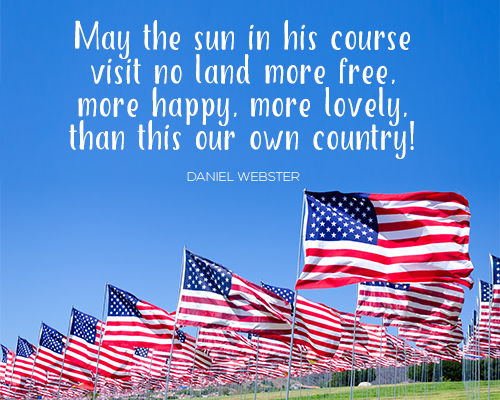 America, The Land Of The Free & Brave.