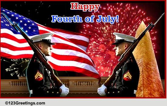 Born On The 4th Of July Cards Patriotic 4th O...