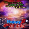 An Inspirational 4th of July Ecard.