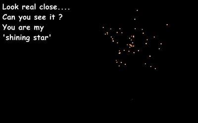 Fireworks Star.