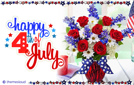 Happy 4th Of July Greetings For You!