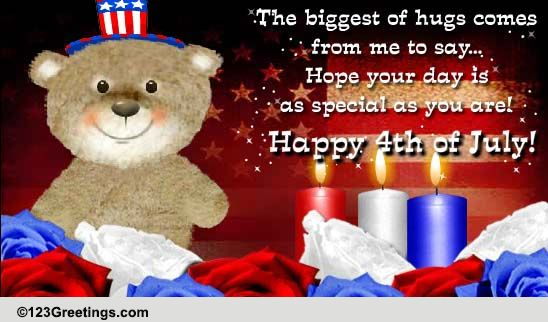 Born On The 4th Of July Cards 4th of July Bea...