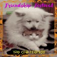 Home : Events : Friendship Festival 2018 [Jul 25 - 28] - Doggy Wants To Be Friends With Kitty.