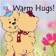 Sending Warm Hugs!