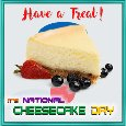 Home : Events : National Cheesecake Day 2018 [Jul 30] - Have A Cheesecake Treat!