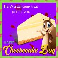 Home : Events : National Cheesecake Day 2020 [Jul 30] - A Delicious Treat For You.