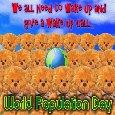 A Wake Up Call On World Population.