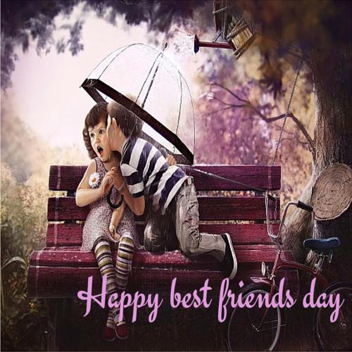 Happy Best Friends Day My Friend Free Happy Best Friends Day Ecards 123 Greetings