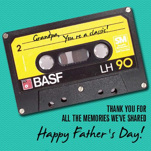 Happy Father's Day To Grandpa.