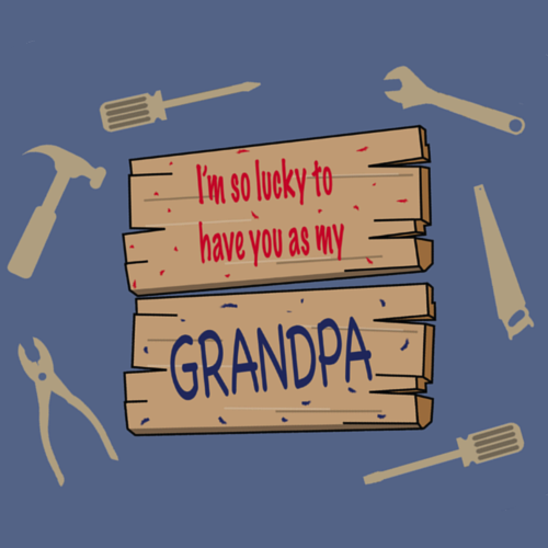 To My Grandpa With Love.