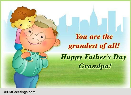 Free Download Birthday Greeting Card For Grandfather Grandpa Free ...
