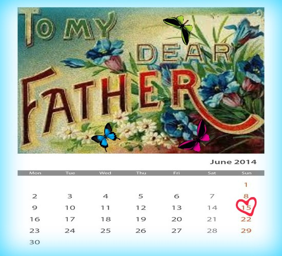 To My Sweet And Dearest Father.
