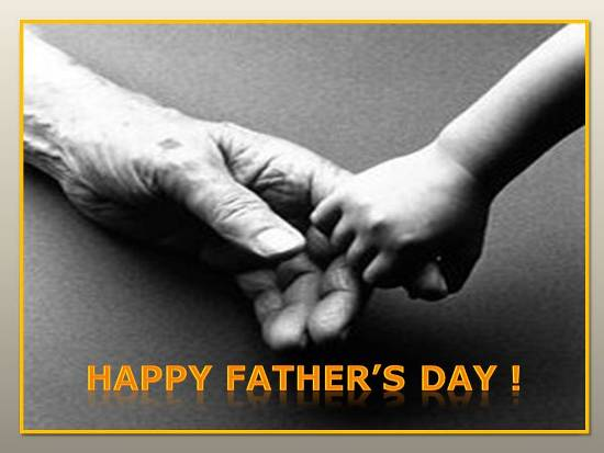 Greet Ur Dear Father On Father's Day.