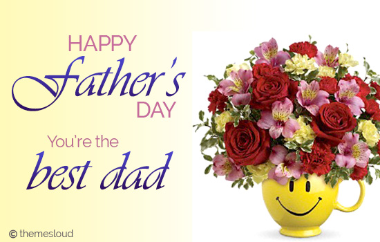 Father's Day Wish To The Best Dad!