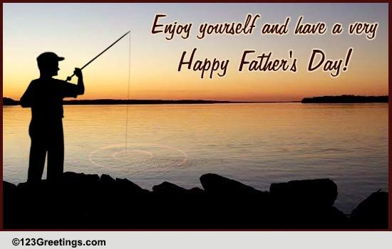 Outstanding Enjoy Fathers Day Free Happy Fathers Day Ecards Personalised Birthday Cards Veneteletsinfo
