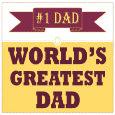 Happy Father's Day To The No.1 Dad.