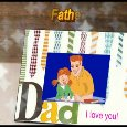 Dad I Love You Ecard On Father's Day.