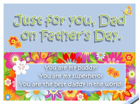 Just For You, Dad!