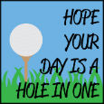 Don't Be Teed Off.