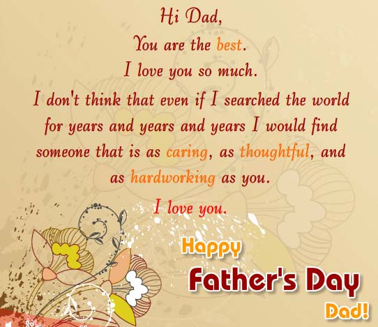 As Caring, As Thoughtful As You. Free From Daddy's Girl
