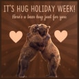 A Bear Hug Just For You!