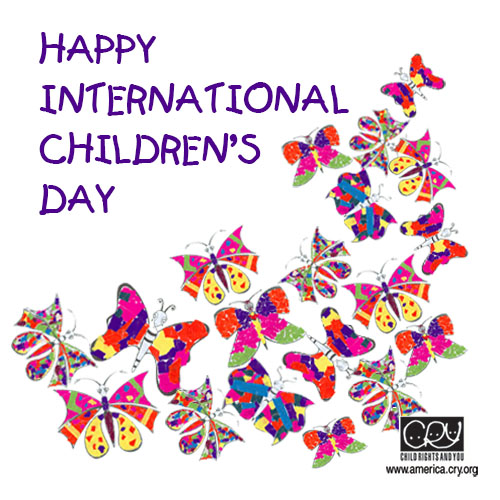Happy International Children's Day.
