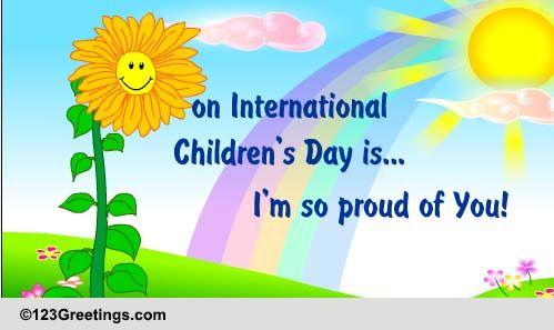 International Children's Day! Free International Children ...