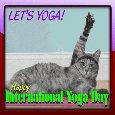 Home : Events : International Yoga Day 2018 [Jun 21] - Let's Yoga!