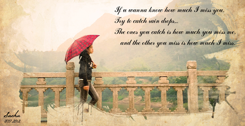 Missing You In Rains.