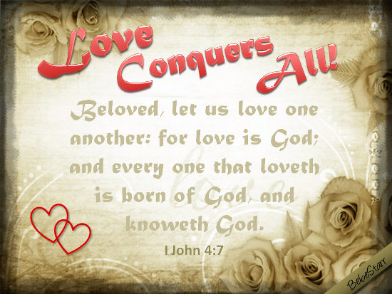 Let Us Love One Another.