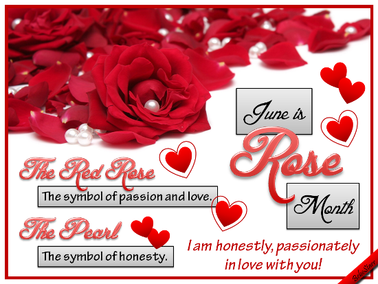 Symbol Of Passion Free Rose Month Ecards Greeting Cards 123