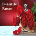 Sending Beautiful Rose Basket.