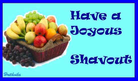Shavuot Wishes.