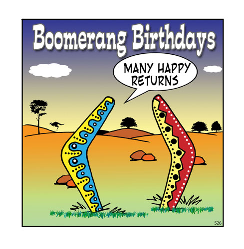 Boomerang Birthdays...