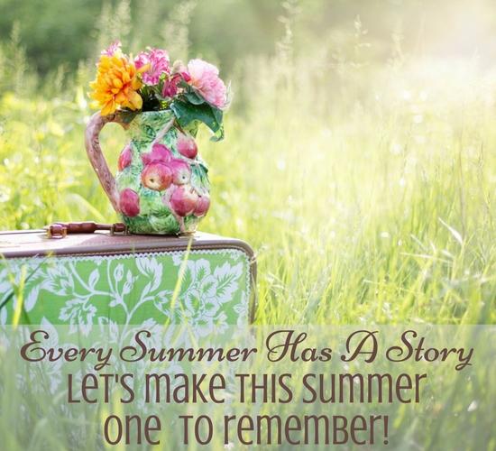 Make Memories This Summer.