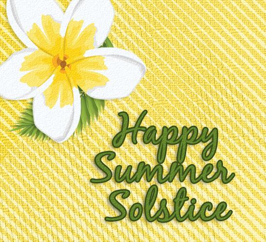 Happy summer solstice flower free happy summer ecards greeting happy summer solstice flower m4hsunfo