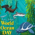 A World Ocean Day Card For You.
