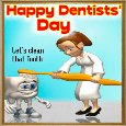 A Dentists' Day Ecard.