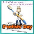 My Dentists' Day Card.
