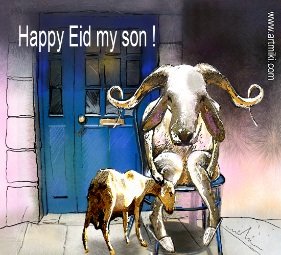 Happy Eid, Son!